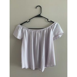 🌟2 for 12 Tops🌟 Off the Shoulder Lilac Top